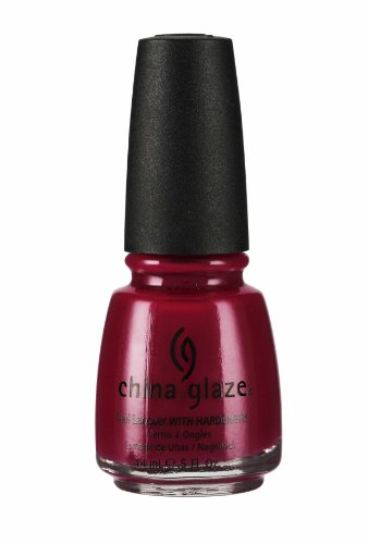 China Glaze Nail Polish, Bing Cherry, 0.5 Fluid Ounce