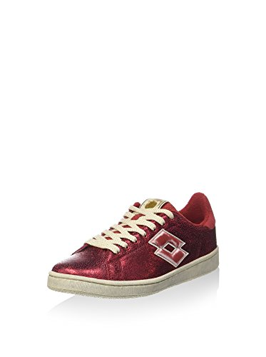 Lotto Leggenda, Donna, Autograph Red Prestige White Antique, Pelle, Sneakers, Rosso