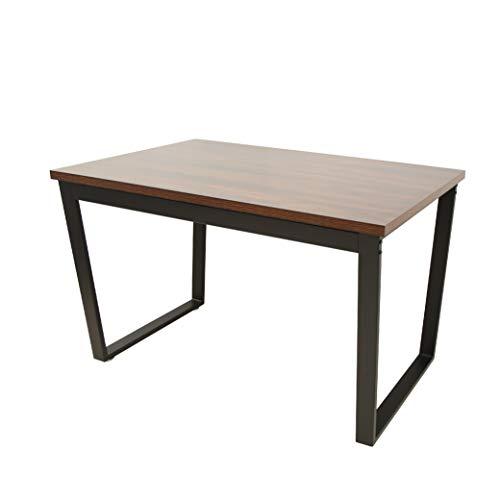 Marca Amazon - Movian Kyyvesi - Mesa de comedor, 120,5 x 71,4 x 76 cm, efecto de madera de nogal