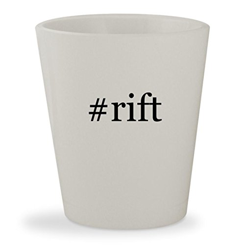 Price comparison product image #rift - White Hashtag Ceramic 1.5oz Shot Glass