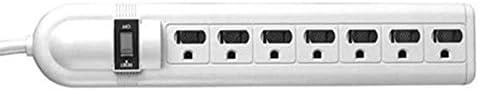 Vanco 821807 7 Outlet Power Surge Strip