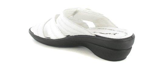 Romika - Zuecos para mujer Blanco blanco