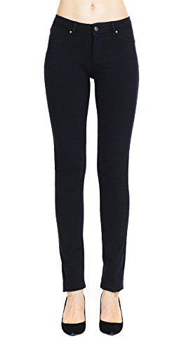 Megan apparel Women's Slim Fit Super Stretch Soft French Terry Jeggings Leggings Skinny Pants With Real Back - Swim Uk Leggings