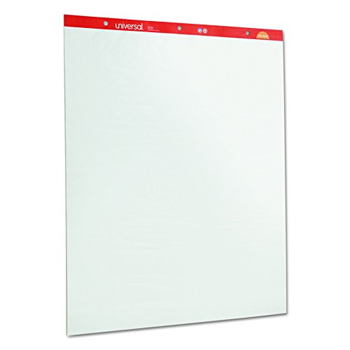 Backing Paper Pad - Universal 35600 Recycled Easel Pads, Unruled, 27 x 34, White, 50 Sheet (Case of 2)