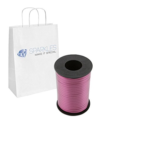 Sparkles Make It Special Curling Ribbon Roll 500 Yards for Balloons and Wrapping - 22 Colors - Burgundy