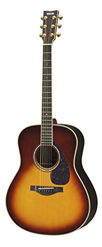 Yamaha L-Series LL6 Acoustic-Electric Guitar - Roswewood, Brown Sunburst