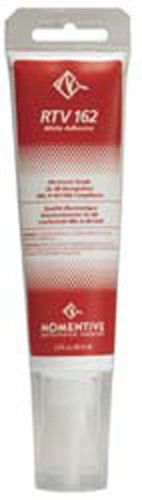 Momentive RTV162 One Part Silicone Sealant, 2.8 Ounce Tube, White