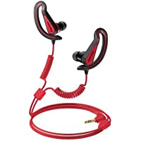 Pioneer SE-E721-R Fully Enclosed Sports Earphones - Red