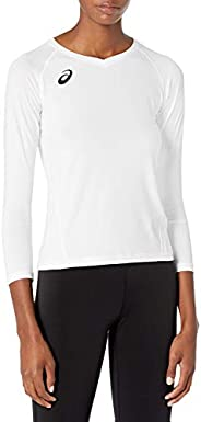 ASICS Girls' Youth Spin Serve Volleyball Jersey Short Sl