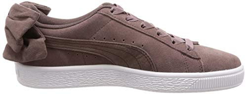 peppercorn 01 Puma Basses Marron peppercorn Bow Femme Wn's Sneakers Suede 0Tzr0