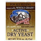 Hodgson Mill Active Dry Yeast 8.75 CT(Pack of 12)