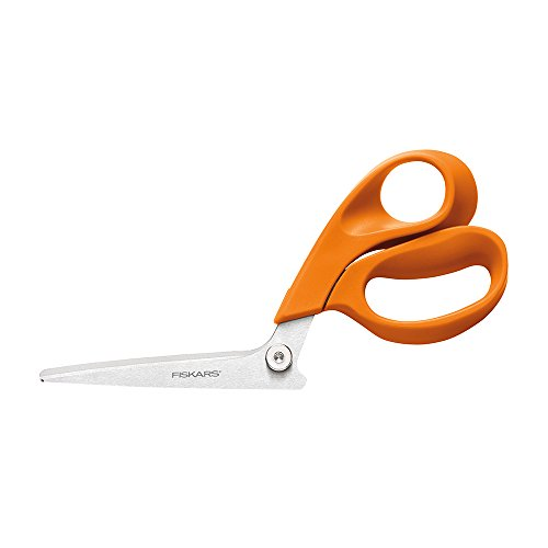 Fiskars 199500-1001RazorEdge Fabric Shears/Seam Ripper for Tabletop Cutting , 8 Inch (Best Shears For Cutting Fabric)
