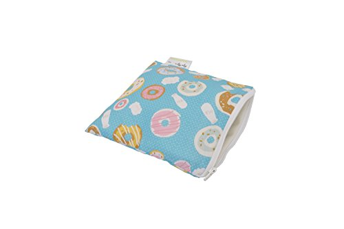 - Itzy Ritzy Happens Reusable Snack and Everything Bag, Donut Shop, Green