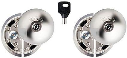 UFO-398 8080332315D Cerradura Furgoneta, 0 V, Nickel Opaco