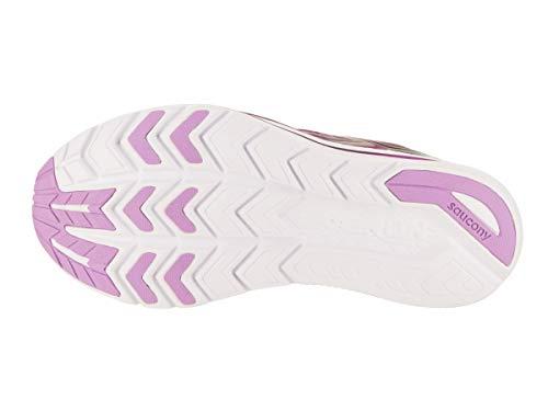 Blanco S10418 Mujer rosado Saucony Kinvara Púrpura 35 Aguamarina 9 tqPtZw1xv
