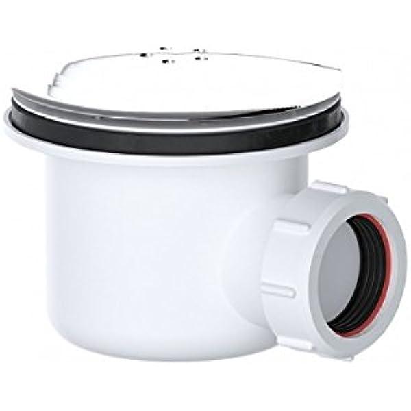 Viva WSH90 - Desagüe de ducha sanitario (90 mm, salida de 40 mm, estándar para el hogar): Amazon.es: Bricolaje y herramientas