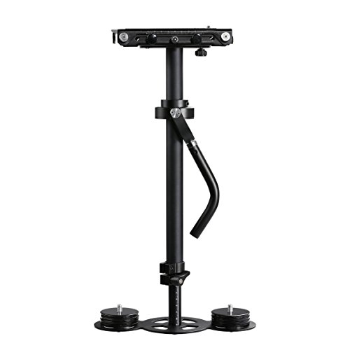 Movo VS2000PRO Telescoping Video Stabilizer System with Micro Balancing and Quick Release Platform - For DSLR Cameras & Camcorders up to 6.6 LBS