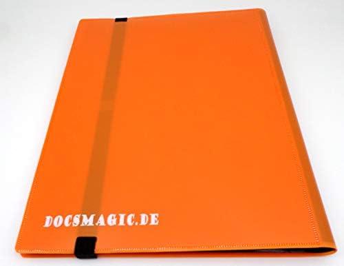 docsmagic.de PRO-Player 4-Pocket Album Purple MTG YGO 160 Card Binder Raccoglitore per Carte da Gioco collezionabili Porpora PKM