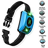 Dansrueus Dog Bark Collar, Rechargeable Dog Training Anti Bark for Large Medium Small Dogs with Adjustable Humane Modes, LED Light & Screen Waterproof