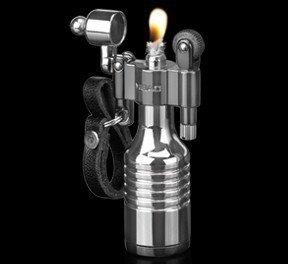 Kerosene Feuerzeug, benzinbetrieben, Vintage-Optik