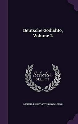 Deutsche Gedichte Volume 2 Michael Richey Gottfried
