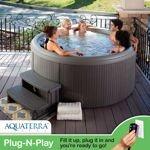 Aquaterra Spas Newporter 3.0 22-Jet, 5-Person Spa (delivers in 2-4 weeks)