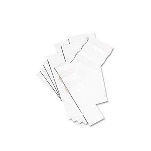 File Folder White Inserts - 6