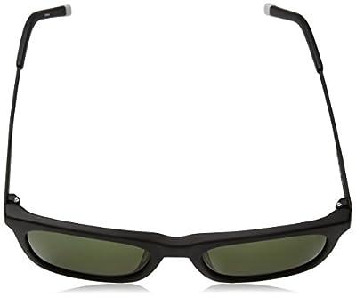 Calvin Klein Men's Ck4319s Square Sunglasses, Matte Black, 54 mm