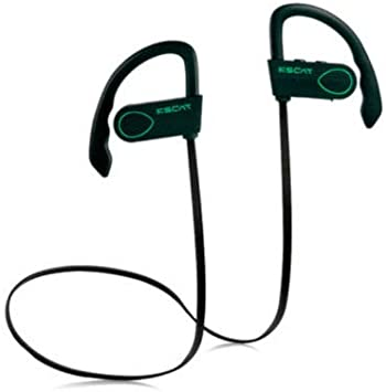 Amazon Com Kscat Bc03 Bluetooth Headphones Best Wireless Earbuds Waterproof Sports Earphones With Mic Hd Stereo Sweatproof Earbuds 8 Hours Noise Cancelling Headset For Gym Running Outdoor Green Home Audio Theater