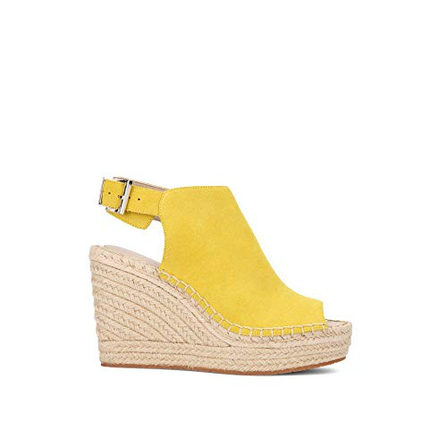 Kenneth Cole New York Women's Olivia Suede Espadrille Wedge Sol 5