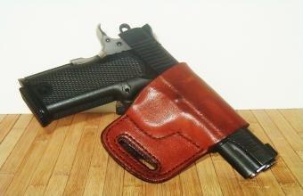Kahr PM9 Left Hand Pro Carry Belt Ride Gun Holster