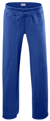 Soffe Junior's Rugby Fleece Pant, True Royal, Large -