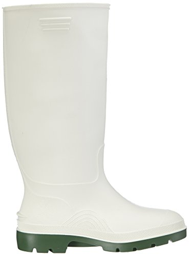 Dunlop Bianco Stivali Stivali Gomma Di Gomma Bianco Dunlop Di rP8rwq6x4