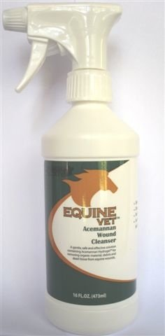 Equinevet Acemannan Wound Cleaner by EquineVet
