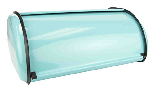 Home Basics Storage Bread Box (1, Turquoise)