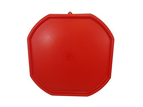 RED MIXING TRAY, CHILDREN'S PLAY MAT, SAND PIT, WATER, PLASTIC, TOYS, POOL PIT, by Keto Plastics