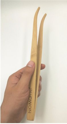 11-inch-wood-reptile-tweezers-long-tool-for-frog-spider-lizard-terrarium-cleaning-and-feeding