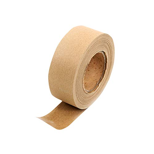 GYDHZJDA 4 Roll Kraft Paper Brown Masking Tape for Picture Framing and Box Sealing 36mm Wide X 45m Long Paper Tape