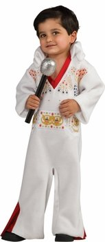 Elvis Presley Romper Costume,Toddler (Easy Rock Star Halloween Costumes)