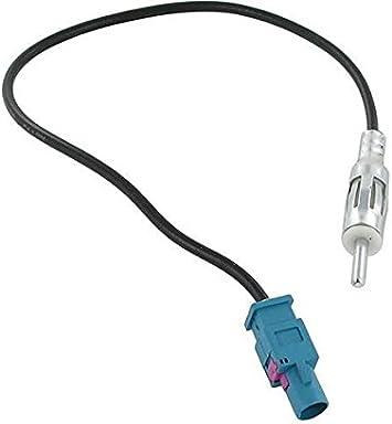 Adaptador de antena de radio para BMW series 1, 3, 5, 6, 7, MINI FAKRA DIN alargador de radio para el coche