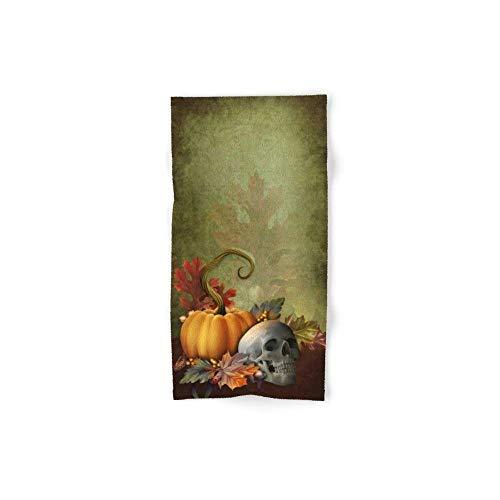 zixi Halloween Skull Hand Towel 31