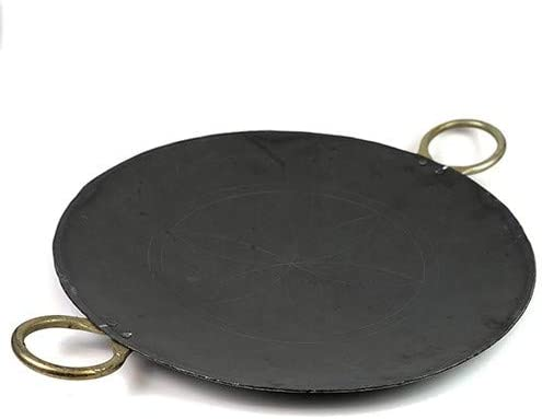 Iron Concave Thawa, Pavbhaji Tawa with Side Metal Handle (23 Cm Dia): Buy Online at Best Price in UAE - Amazon.ae