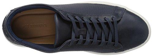 Lacoste Heren L.12.12 Sneakers Nvy / Gebroken Wit Leer