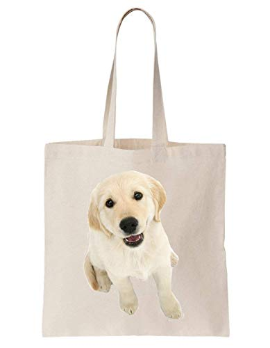 Sac Golden Cool Retriever Totebag Krissy Pretty Puppy Dog Cute Pet En Coton OnqfRfxd8