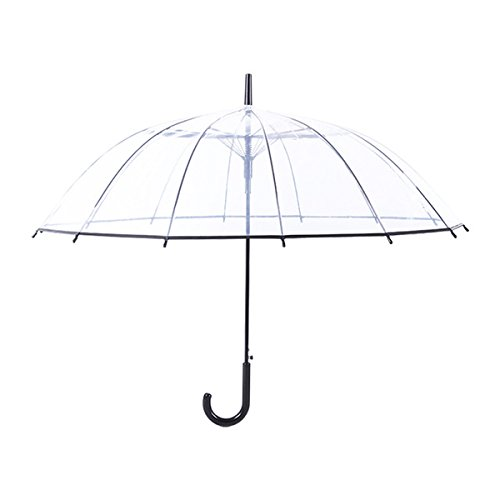 Comprehensive Fabric - Transparent Umbrella Automatic Close