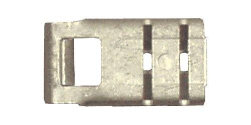 Rápida Cable 166265 – 100 sin aislar sin soldadura bandera Terminal, 16 – 14 Wire