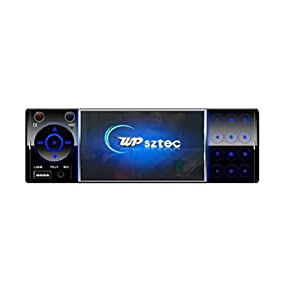 Cheap Car Stereo Deck System - UPsztec 4202A (2017 New Design)Auto Light and Portable Car Stero Bluetooth Backup Camera For Truck,Sports Car,Pickup Including Remote Controller,Handsfree calling