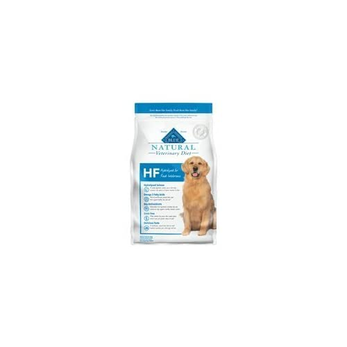 Blue Natural Veterinary Diet HF Hydrolyzed for Food Intolerance Dry Dog Food 22 lb by Blue Buffalo