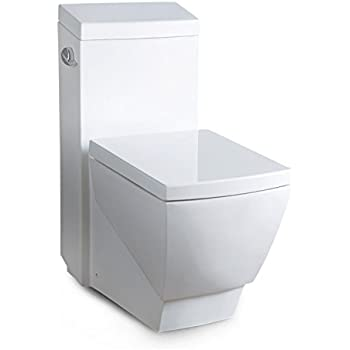 Niagara 22002WHCO1 EcoLogic 1.6 GPF Toilet with Elongated Bowl and ...