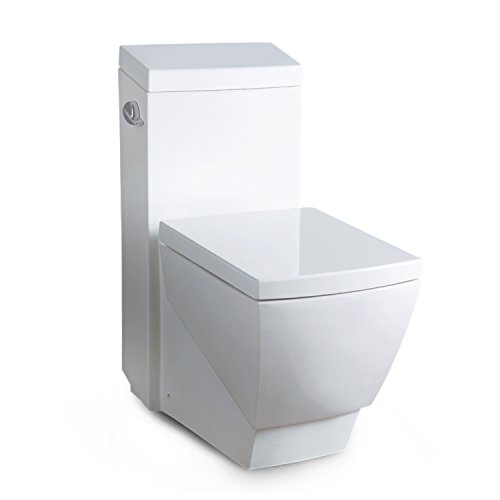 Ariel TB336M Ariel Platinum Aphrodite Contemporary One Piece White Toilet
